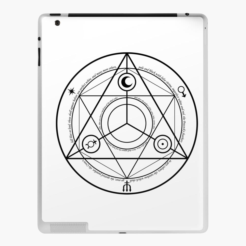 Alchemy Symbol,   mwo,x1000,ipad_2_skin-pad,1000x1000,f8f8f8