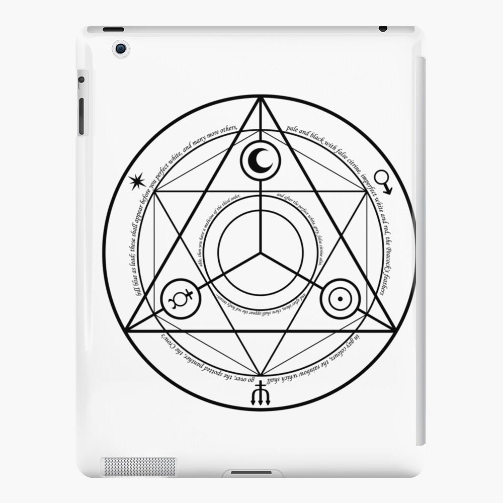 Alchemy Symbol,   mwo,x1000,ipad_2_snap-pad,1000x1000,f8f8f8