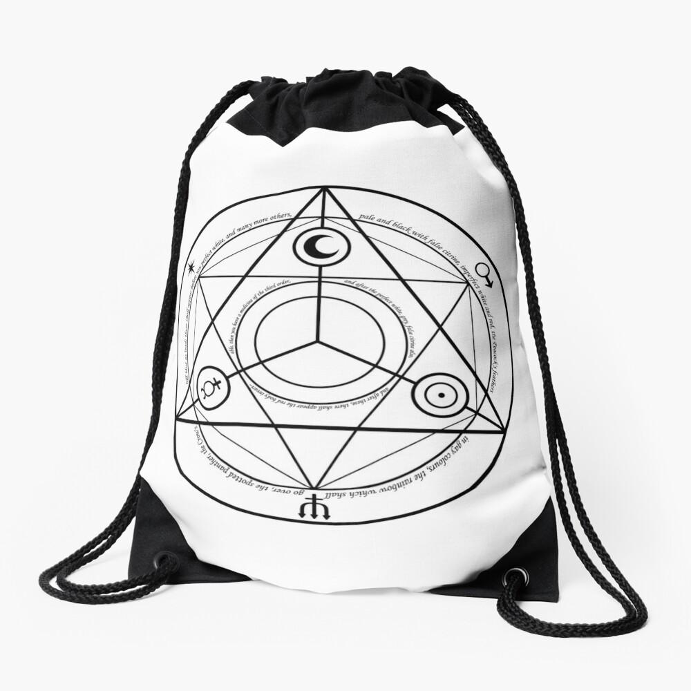 Alchemy Symbol,   drawstring_bag,x1000-pad,1000x1000,f8f8f8