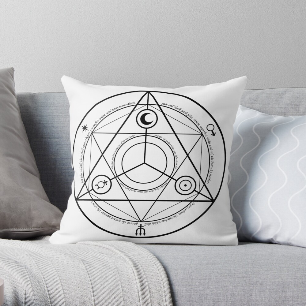Alchemy Symbol,   throwpillow,small,1000x-bg,f8f8f8-c,0,200,1000,1000