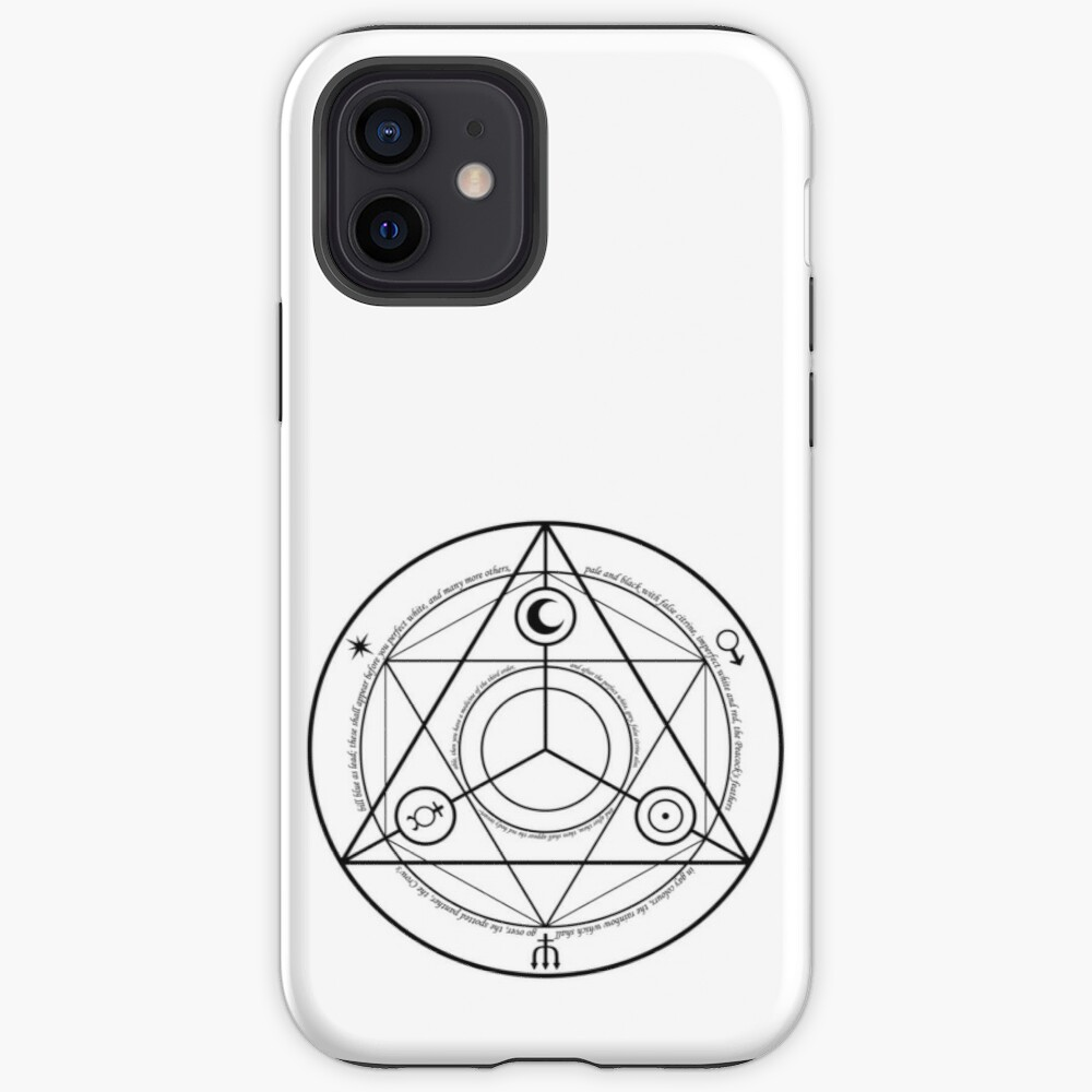 Alchemy Symbol,   icr,iphone_12_tough,back,a,x1000-pad,1000x1000,f8f8f8