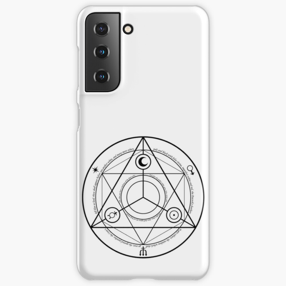 Alchemy Symbol,   icr,samsung_galaxy_s21_snap,back,a,x1000-pad,1000x1000,f8f8f8