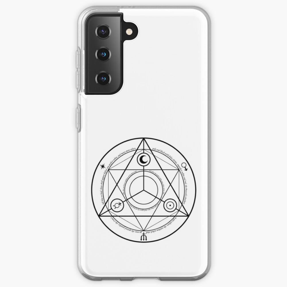 Alchemy Symbol,   icr,samsung_galaxy_s21_soft,back,a,x1000-pad,1000x1000,f8f8f8
