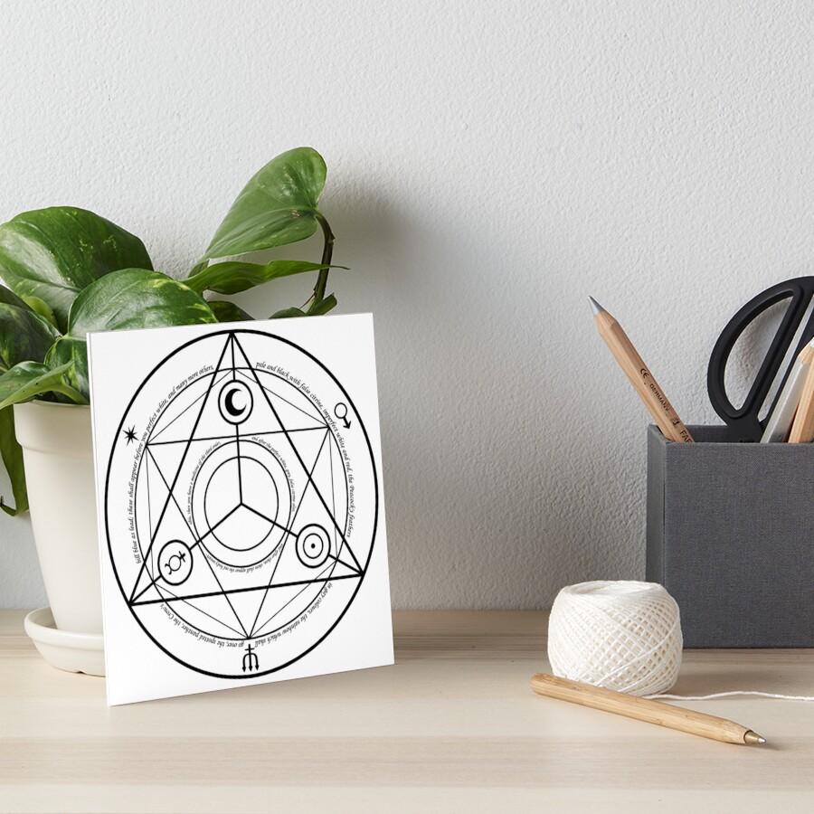 Alchemy Symbol,   gbra,6x6,900x900