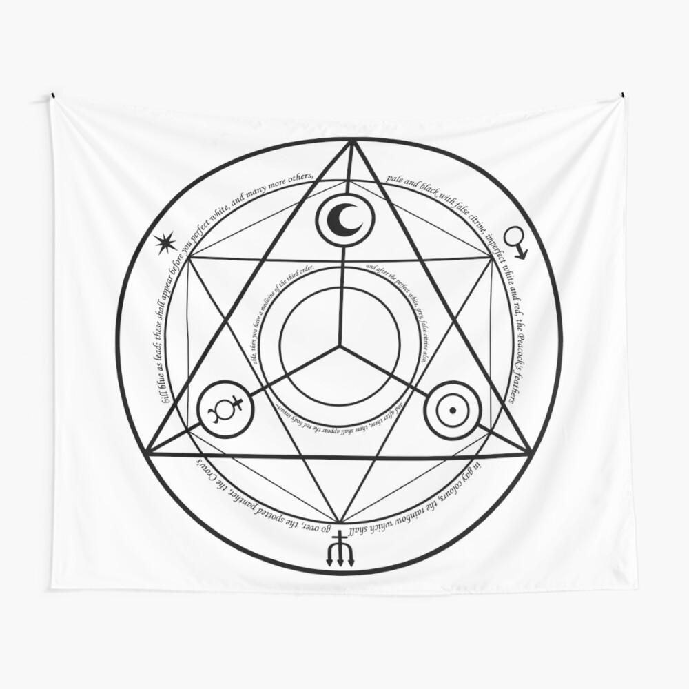 Alchemy Symbol,   tapestry,1200x-pad,1000x1000,f8f8f8