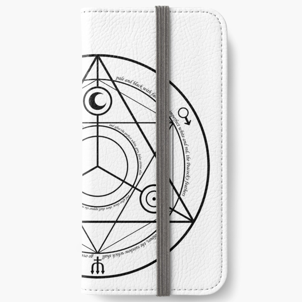 Alchemy Symbol,   wallet,1000x,iphone_6s_wallet-pad,1000x1000,f8f8f8