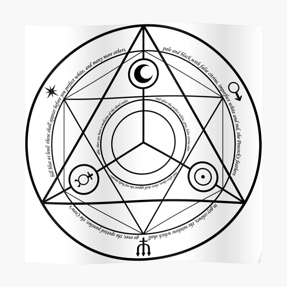 Alchemy Symbol,   poster,840x830,f8f8f8-pad,1000x1000,f8f8f8