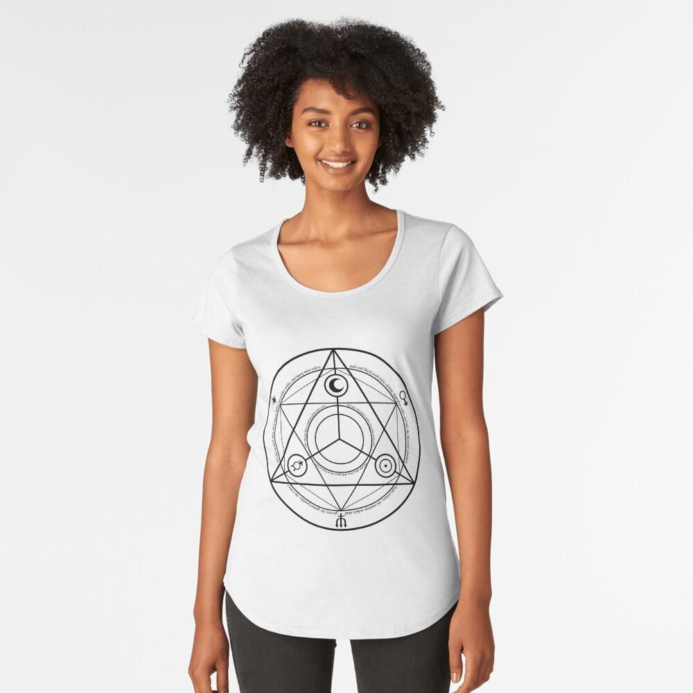 Alchemy Symbol,   rco,womens_premium_t_shirt,womens,x1770,fafafa:ca443f4786,front-c,170,40,1000,1000-bg,f8f8f8