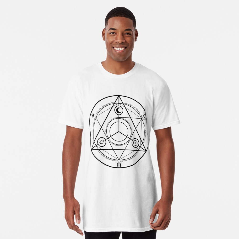 Alchemy Symbol,   ssrco,long_t_shirt,mens,fafafa:ca443f4786,front,square_three_quarter,x1000-bg,f8f8f8