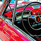 Fiat 1100D Through The Window by Dorothy Berry-Lound