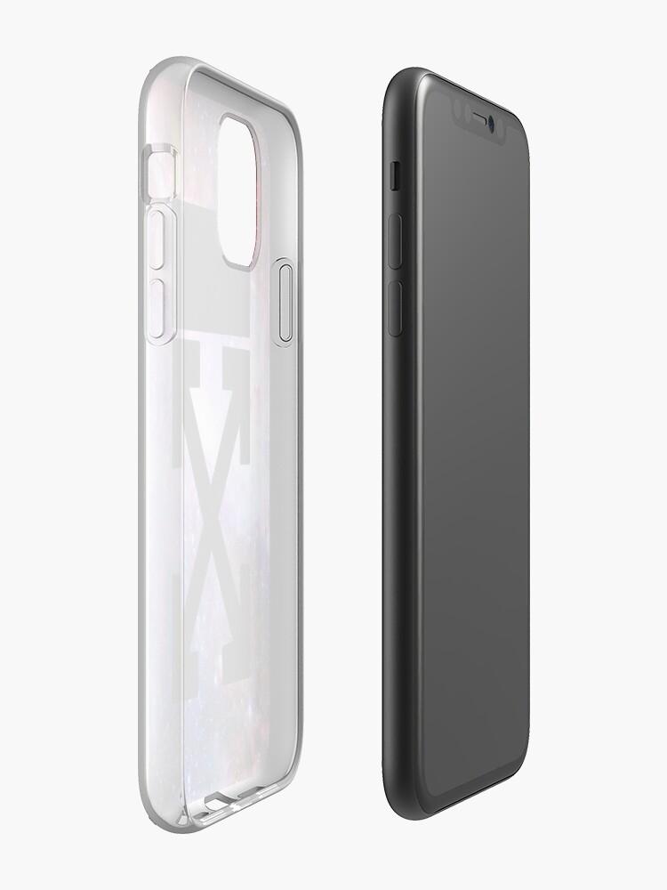 coque iphone 7 super u | Coque iPhone «Cas de téléphone blanc cassé», par shxxk