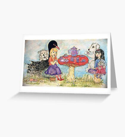 Tea and Cupcakes Greeting Card