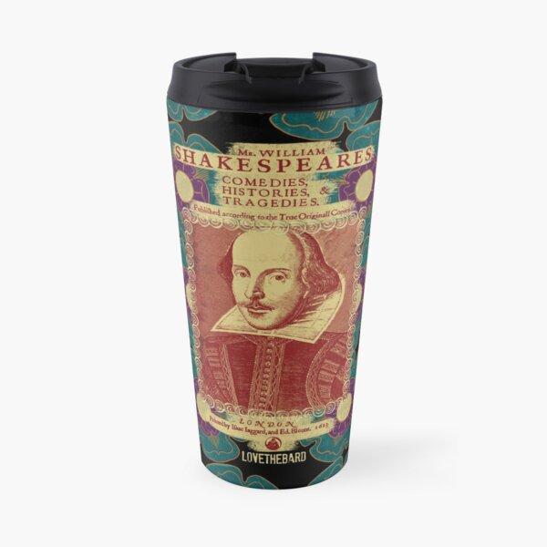 Shakespeare Tudor Flower Power Travel Mug
