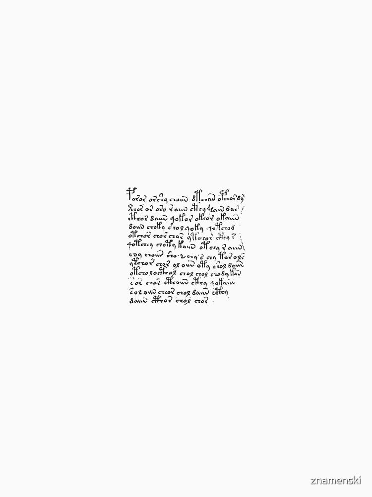 #Voynich #Manuscript #Language #VoynichManuscript by znamenski
