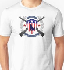Howling Commandos Insignia (Color) Unisex T-Shirt