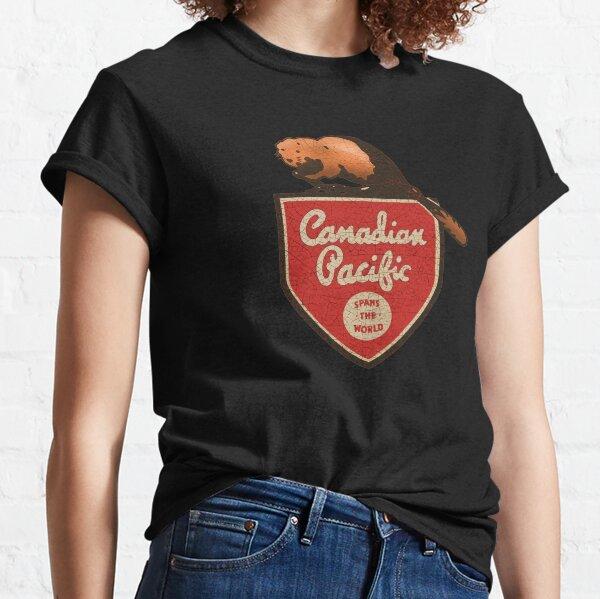 Canadian Vintage Railroad Classic T-Shirt