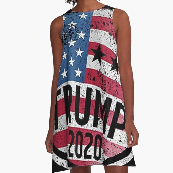 Trump 2020 Circle A-Line Dress