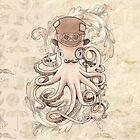 Steampunk Octopus von LCWaterworth