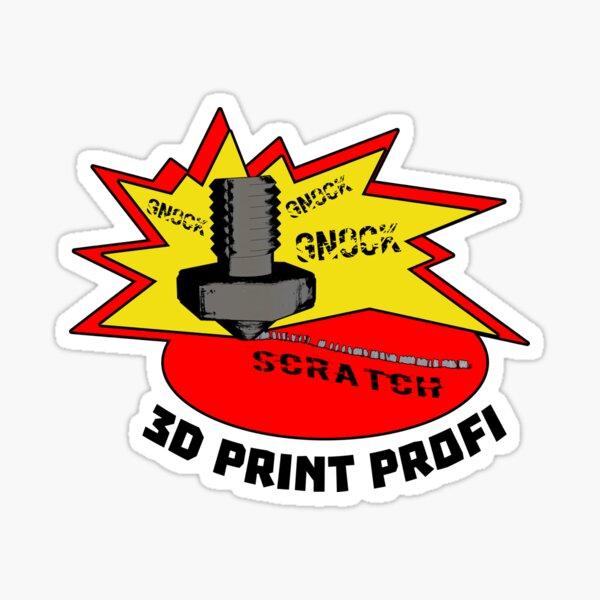 3d print professional Sticker