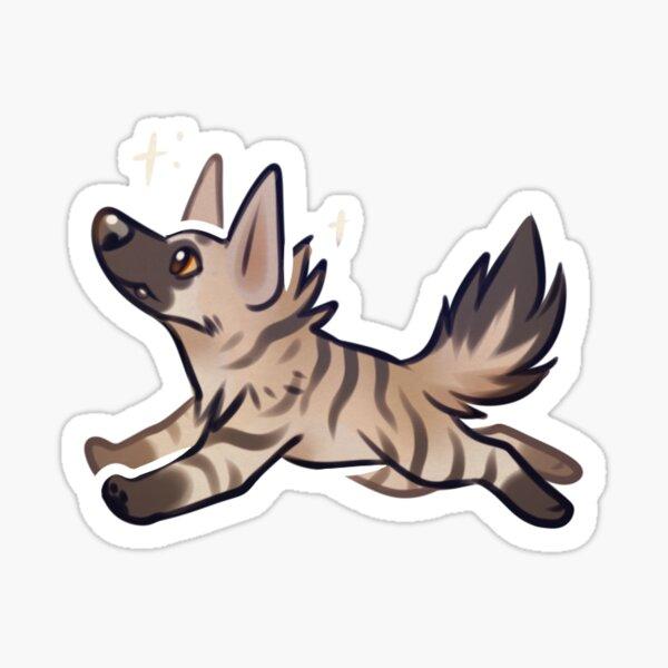Aardwolf Sticker