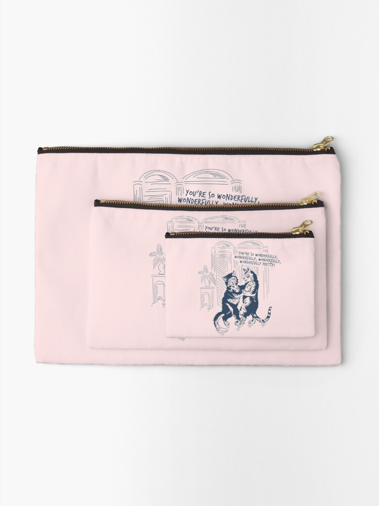 Alternate view of The Cure - Lovecats Zipper Pouch