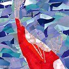 A Single Koi Fish by Jennifer Frederick