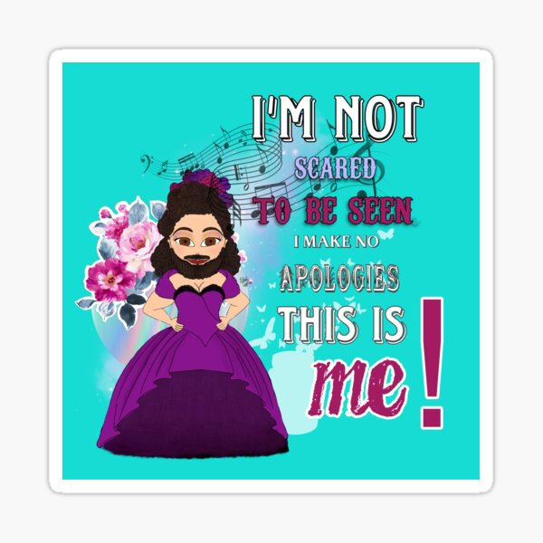 THIS IS ME - Lettie - Greatest Showman Sticker