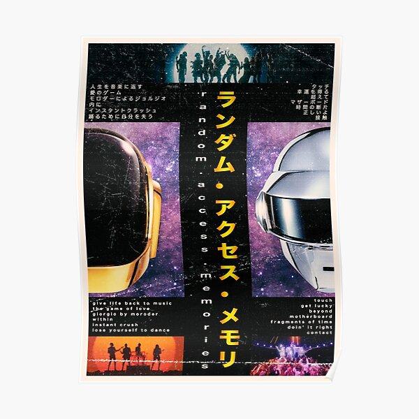 Daft Punk Poster Poster