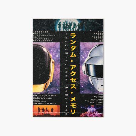 Daft Punk Poster Art Board Print