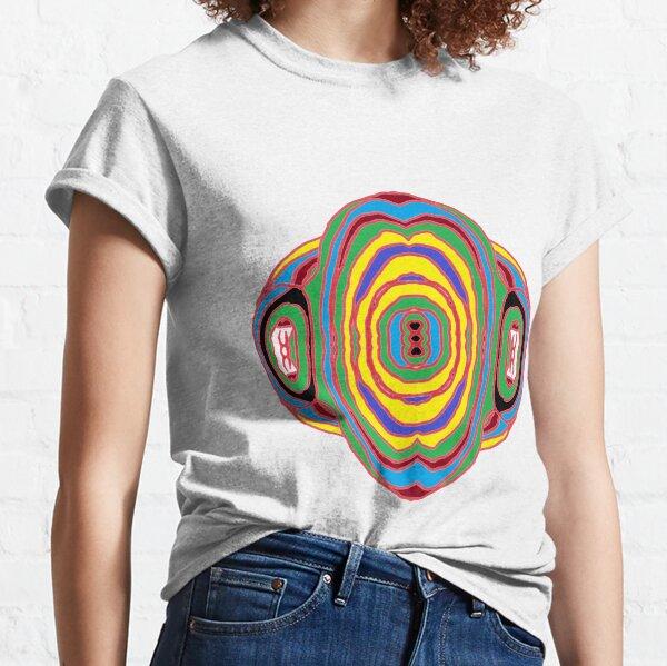 #Playmat #Psychedelic #Art #PsychedelicArt Psychedelic Colors Classic T-Shirt