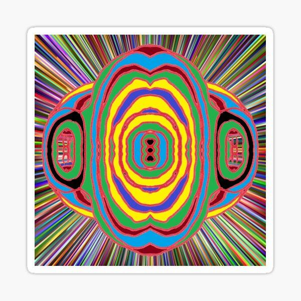 #Psychedelic #Art #PsychedelicArt #PsychedelicColors Sticker