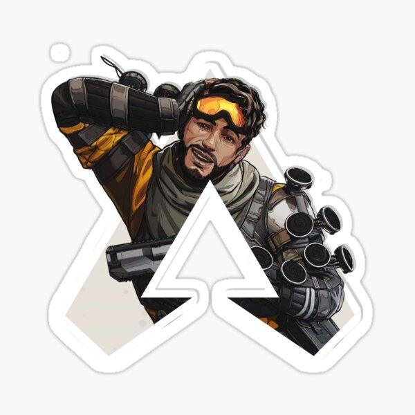 Apex: Legends Mirage Logo Styled Design Sticker