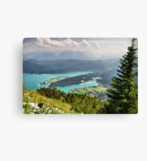 Mountain Karwendel II. Germany. Canvas Print