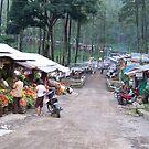 Pasar (market) at Pacet, Mojokerto by Tim Coleman