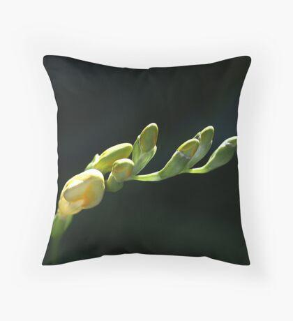 Freesia Fingers  Throw Pillow
