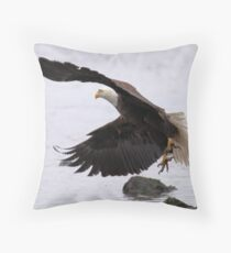 Departure Throw Pillow