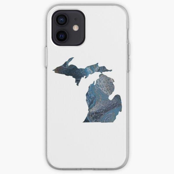 Michigan Love iPhone Soft Case
