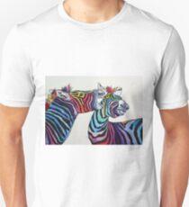 Funny zebras Unisex T-Shirt