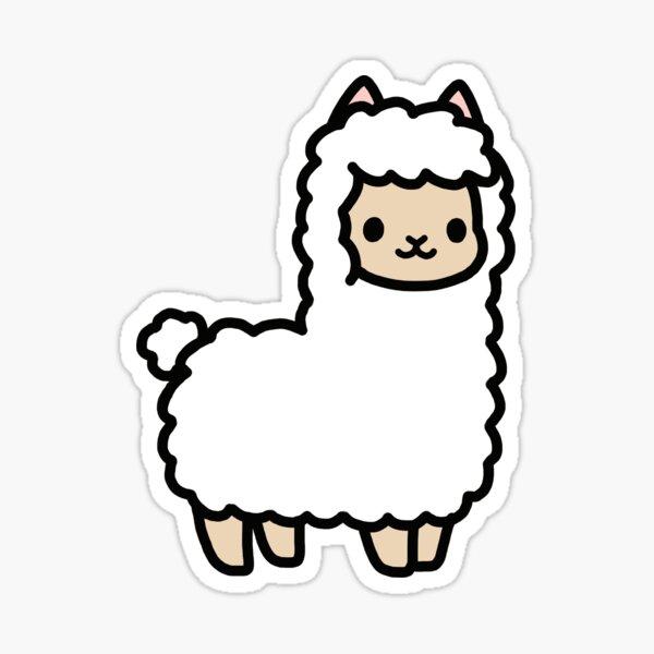 Alpaca Pegatina