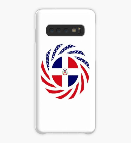 Dominican American Multinational Patriot Flag Series Case/Skin for Samsung Galaxy