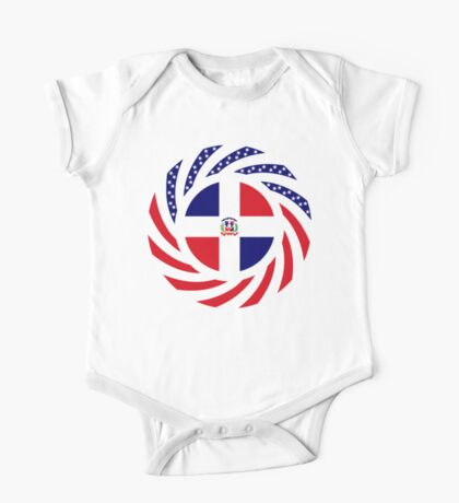Dominican American Multinational Patriot Flag Series Kids Clothes