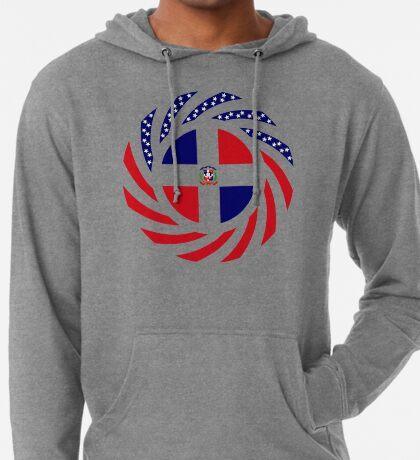 Dominican American Multinational Patriot Flag Series Lightweight Hoodie