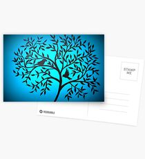 Glowing Tree Postcards