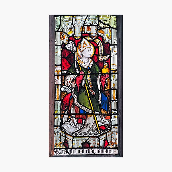 Saints Stained Glass Window 0004 Photographic Print
