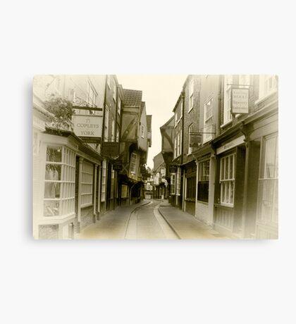Shambles - York. Canvas Print