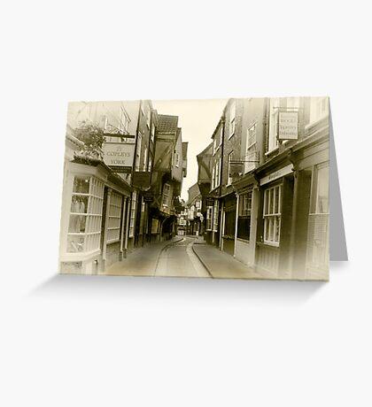 Shambles - York. Greeting Card