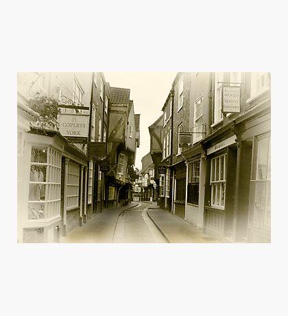 Shambles - York. Photographic Print