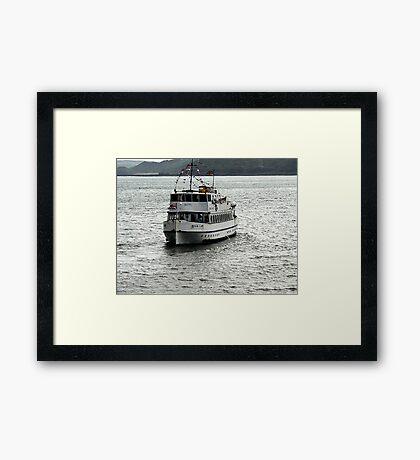 Regal Lady - Scarborough Framed Print