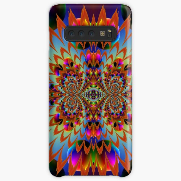 #Fractal #Psychedelic #Art #PsychedelicArt PsychedelicColors Samsung Galaxy Snap Case