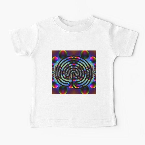 #Psychedelic #Art #PsychedelicArt #PsychedelicColors Baby T-Shirt